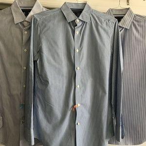 Banana Republic Lot Of 3 Men's Long Sleeves Size S